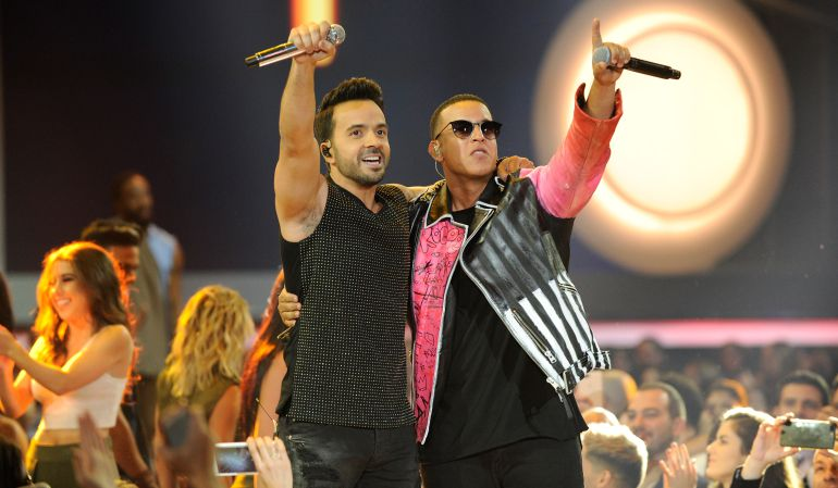 Luis Fonsi y Daddy Yankee - Show en los Billboard Latin Music Awards.