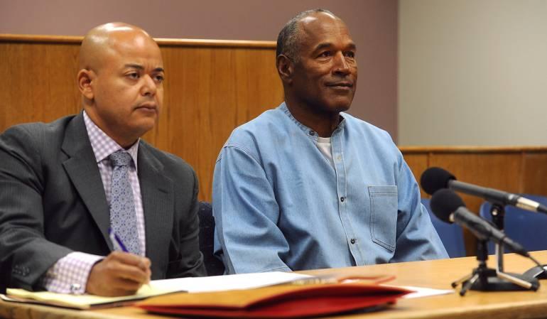 O.J. Simpson en libertad condicional: O.J. Simpson sale de la cárcel en libertad condicional