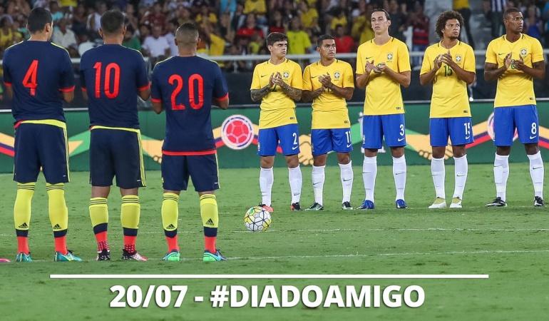Confederación Brasileña Colombia: Esta amistad es eterna: Confederación Brasileña saluda a Colombia en el 20 de julio