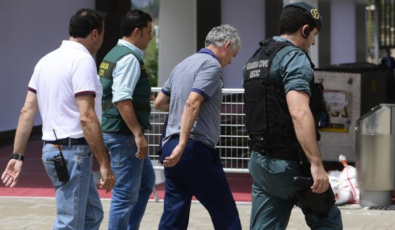 "Gorka Villar FIFA: Gorka Villar propuso pagar a dos asesores con ""fondos de la FIFA"""