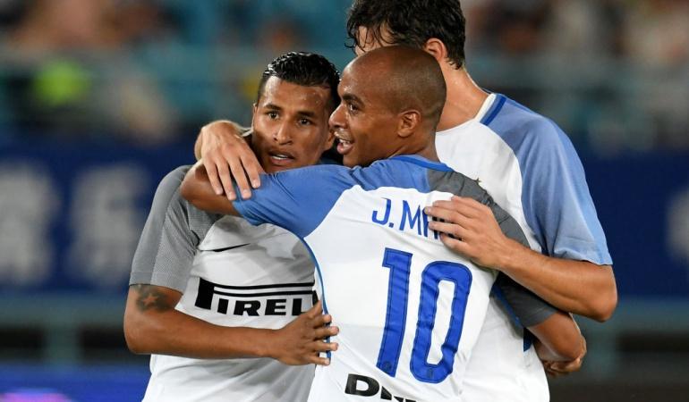 Jeison Murillo Inter Schalke 04: Jeison Murillo marcó un golazo en el empate del Inter ante el Schalke 04