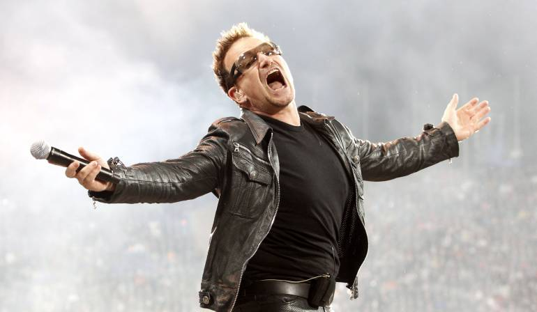 Paul David Hewson, vocalista U2
