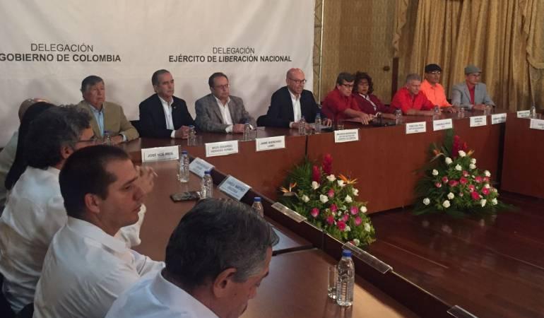 Ecuador sede de las conversaciones entre gobierno y guerrilla colombiano