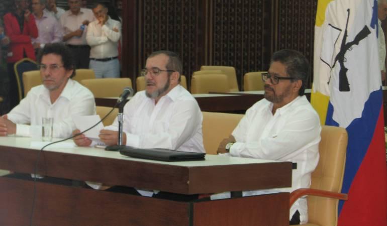 Las Farc lanzarán su partido político el primero de septiembre