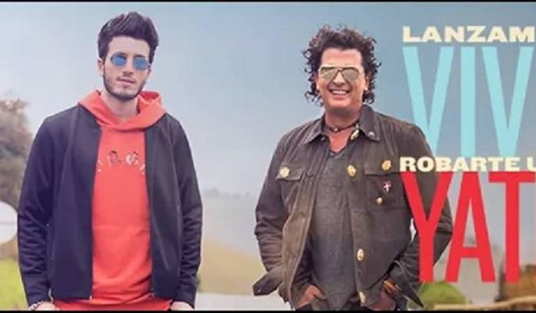 """Sebastian Yatra y Carlos Vives Robarte Un Beso: Sebastian Yatra y Carlos Vives se preparan para """"Robarte Un Beso"""""""