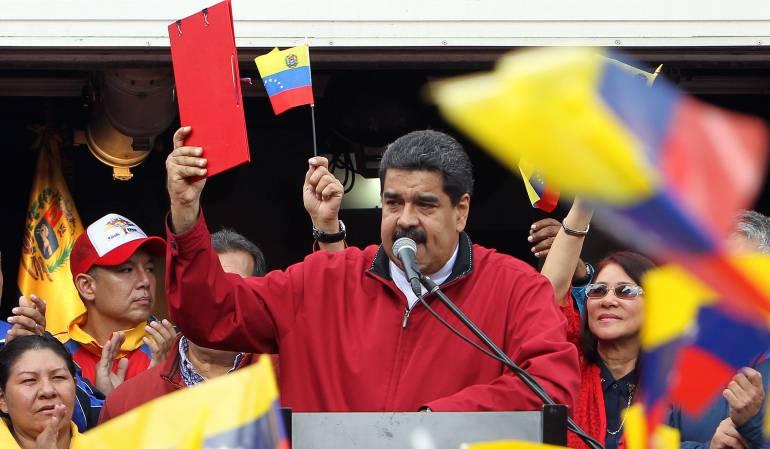 Crisis en Venenzuela: Maduro exige a Colombia y México aclarar supuesto plan injerencista con CIA