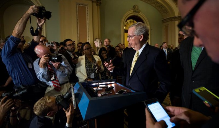 """Derogación del """"Obamacare"""": El Senado de Estados Unidos aprueba seguir adelante con debate para derogar 'Obamacare'"""