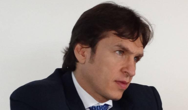 Javier Jaramillo, superintendente de Puertos y Transporte