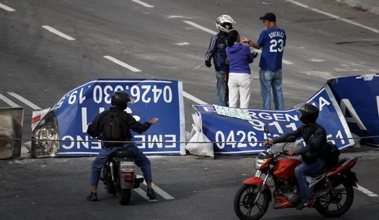 Trabajadores venezolanos no plegaron al paro convocado por la oposición