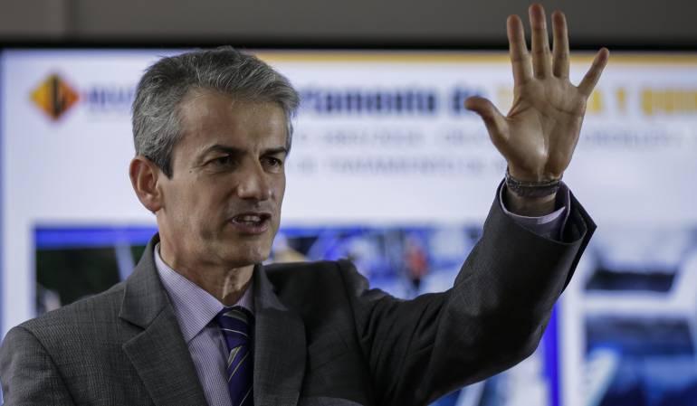 Carlos García Montes, Director General del Invías.