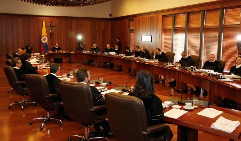 Esta es la terna para elección del último magistrado de Corte Constitucional