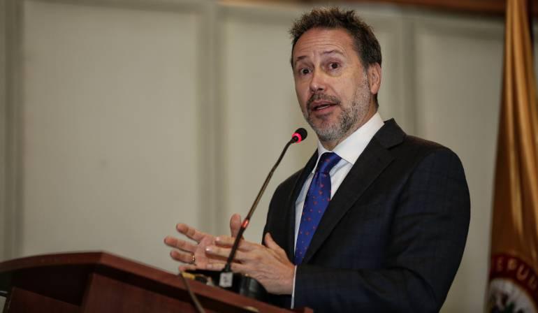 Nestor Raúl Correa, secretario Ejecutivo Transitorio de la JEP
