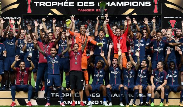 Falcao Mónaco PSG Supercopa de Francia: Falcao no pudo celebrar un nuevo título, Mónaco cayó ante el PSG