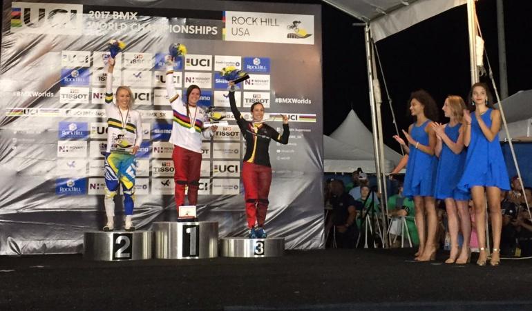 Mariana Pajón ganó bronce en el Mundial de BMX