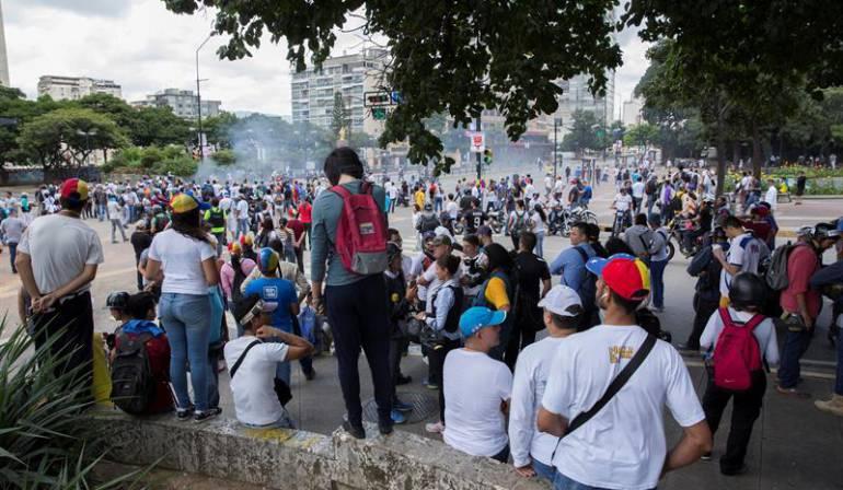 """Crisis Venezuela: Oposición venezolana asegura que ha tenido """"cero apoyo"""" la Constituyente"""