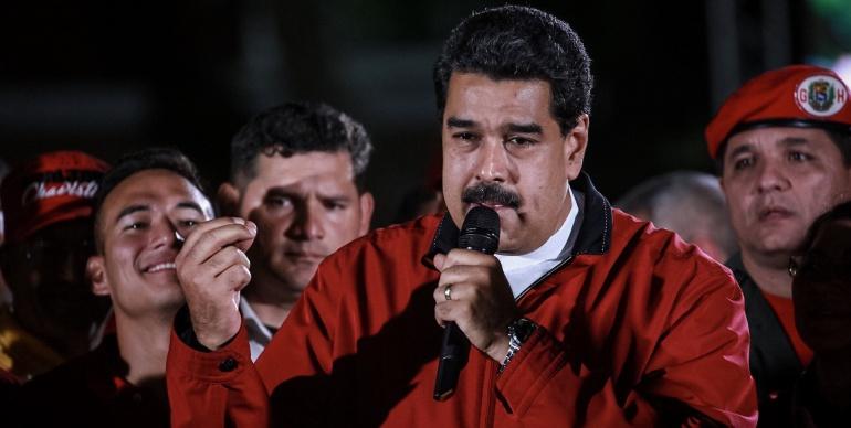 Nicolás Maduro celebra su triunfo en la Constituyente
