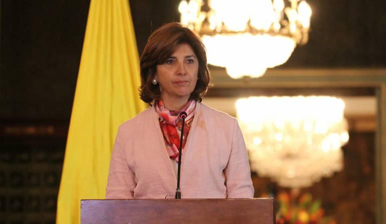 Por crisis migratoria canciller María Ángela Holguín visita Cúcuta