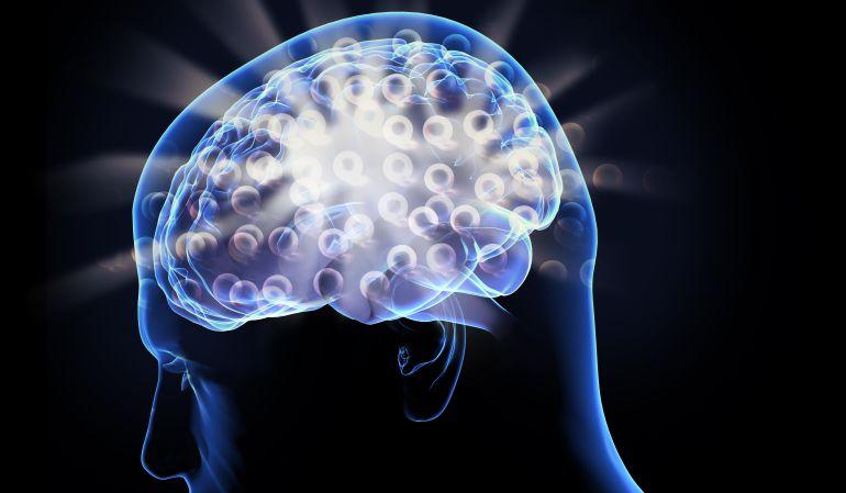 Ejemplo pensamiento cerebro humano.