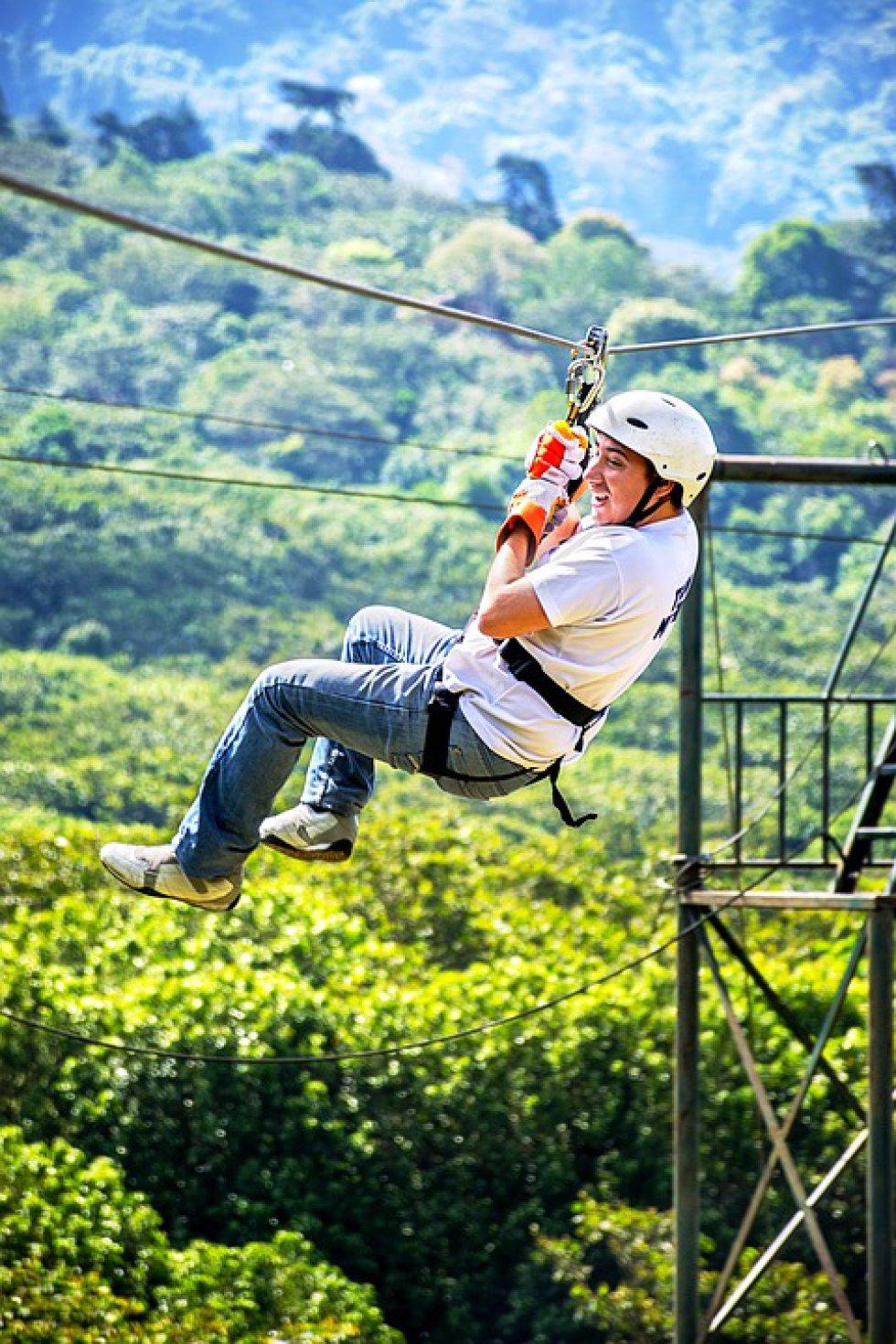 Canopy: este deporte lo puede practicar en Alto del Vino vía la Vega.