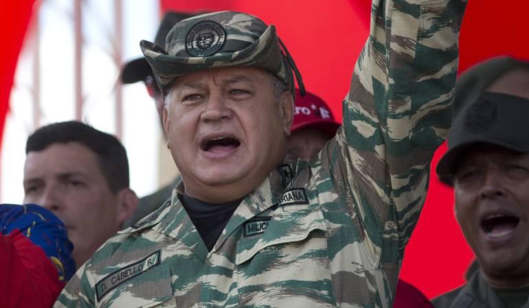 Diosdado Cabello, dirigente oficialista venezolano