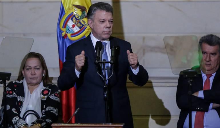 ODEBRECHET: El CNE va encontrar que no se hizo nada indebido en mi campaña: Santos