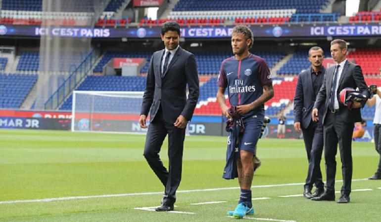 Al Khelaifi Neymar caro PSG: Neymar no es un jugador caro: Al Khelaifi, presidente del PSG
