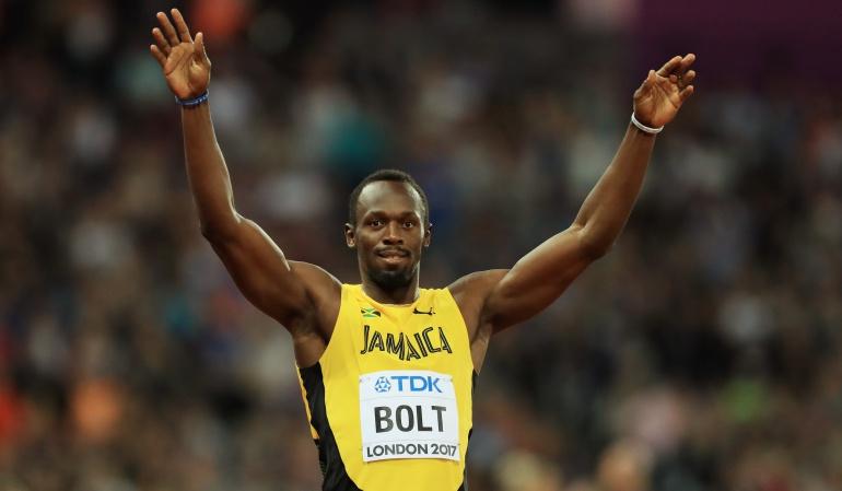 Todo bajo control: Usain Bolt, a semifinales del Mundial