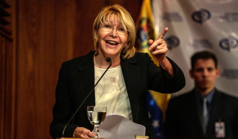 La CIDH otorga medidas de protección a la fiscal general de Venezuela
