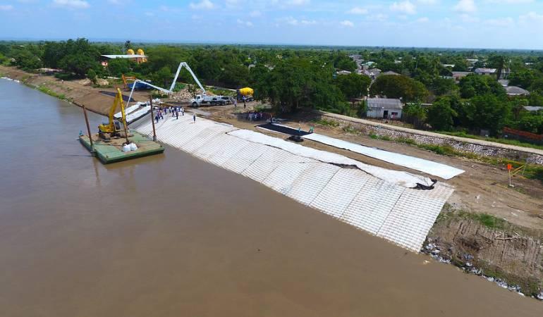 Canal del Dique: Ya están listas 16 estaciones para medir el Caudal en el Canal del Dique