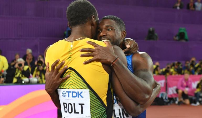 Usain Bolt Mundial de atletismo: Usain Bolt se despide de los 100 metros con derrota ante Justin Gatlin