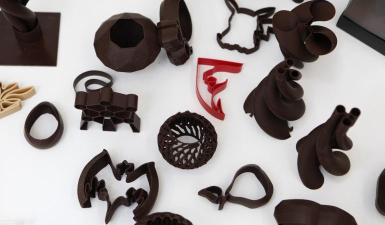 Chocolate en 3D