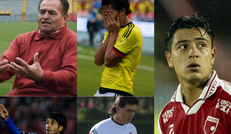 Once histórico de futbolistas bogotanos: El once histórico de los futbolistas bogotanos