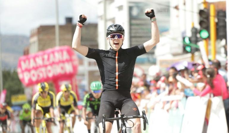 Vuelta a Colombia: Griffin Easter gana la sexta etapa de la Vuelta a Colombia
