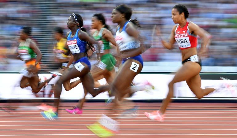 Mundial de Atletismo: En un gran final, Tori Bowie se quedó con los 100 metros entre las mujeres