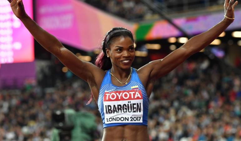 Caterine Ibargüen contenta medalla de Plata: Me voy súper contenta, no me guardé nada para el mañana: Caterine Ibargüen