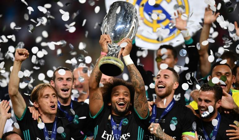 Real Madrid-Manchester United: El Rey de Europa: Real Madrid, campeón de la Supercopa