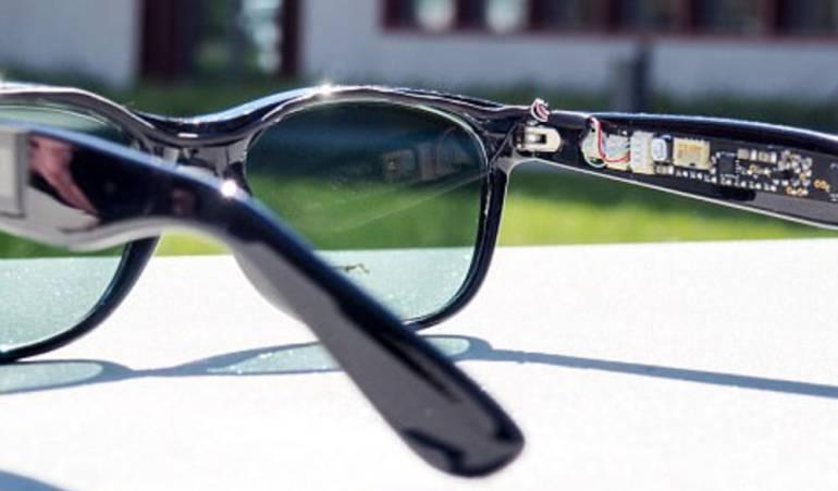 gafas de sol: Cargar el móvil con unas gafas de sol está cada día más cerca