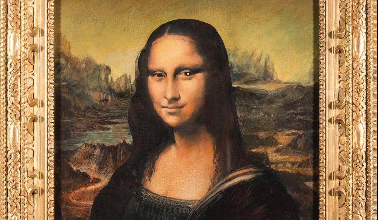 Réplica falsificada de Mona Lisa