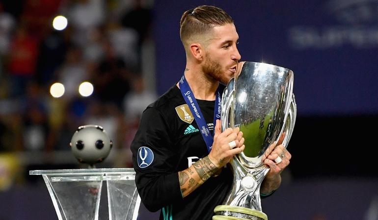 Real Madrid: No me canso de ganar títulos: Sergio Ramos