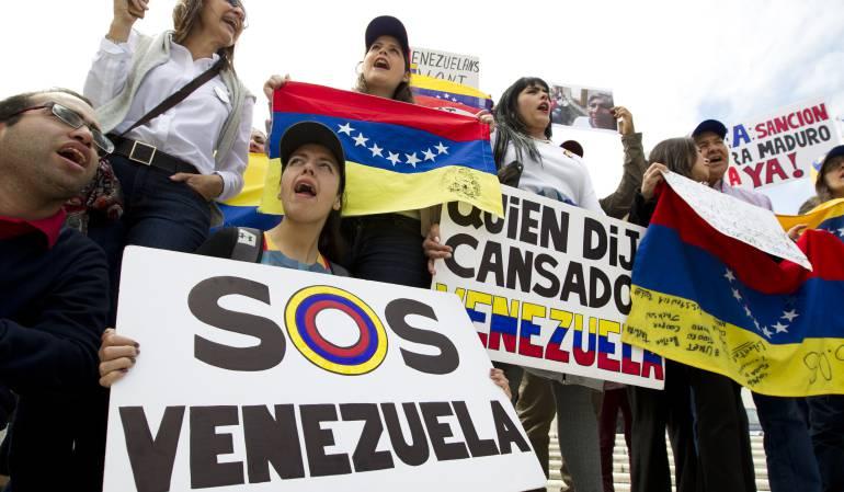 """Crisis Venezuela: Santos afirma que lo que hay en Venezuela es """"una dictadura"""""""