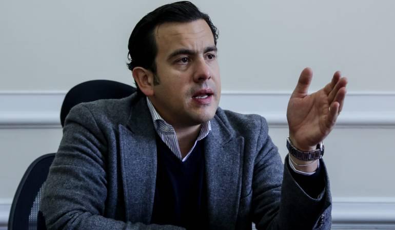 Rodrigo Lara Restrepo, presidente de la Cámara de Representantes.