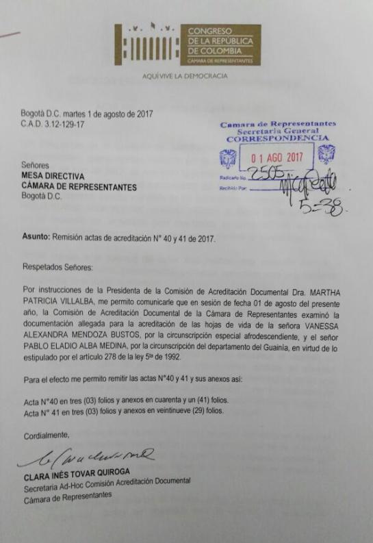 CNE desmiente al presidente de la Cámara, Rodrigo Lara: CNE desmiente al presidente de la Cámara, Rodrigo Lara