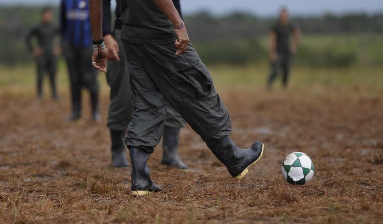 Farc podrán crear equipo de fútbol profesional