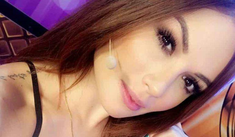La presentadora Sara Uribe.