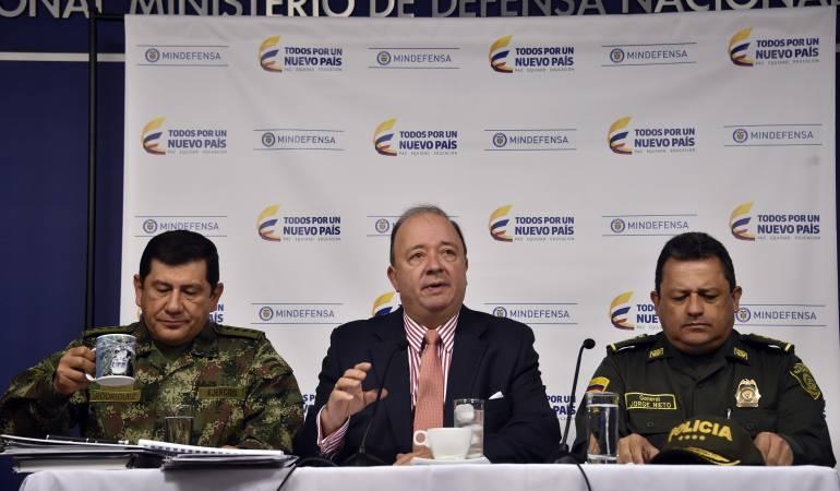 Farc: Policía permanecerá durante tres años en zonas transitorias de las Farc: Mindefensa