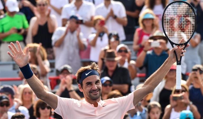 Roger Federer final Master 1000 Canadá: Roger Federer clasificó a la final del Master 1000 de Canadá