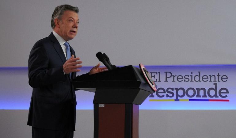 Anunció nuevas medidas económicas — Santos