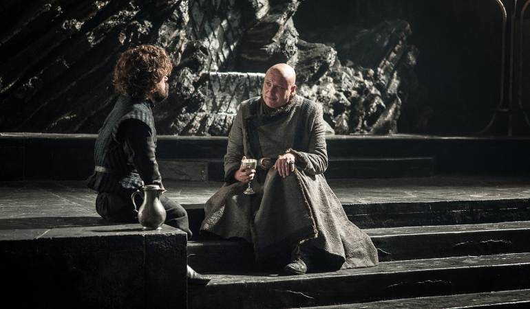 Serie Game of Thrones, durante su séptima temporada.