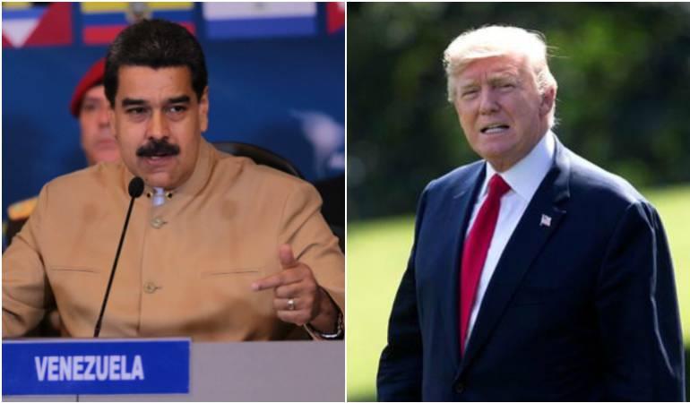 Nicolás Maduro / Donald Trump