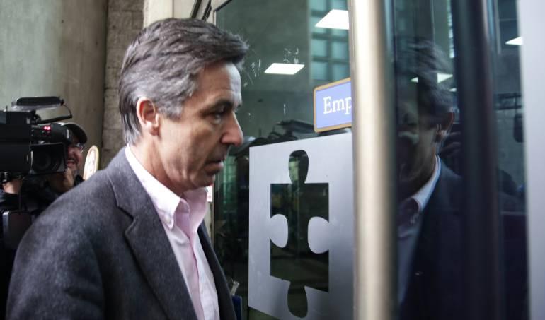 """Rodrigo Prieto, ex gerente de la campaña """"Santos presidente 2014"""" ."""